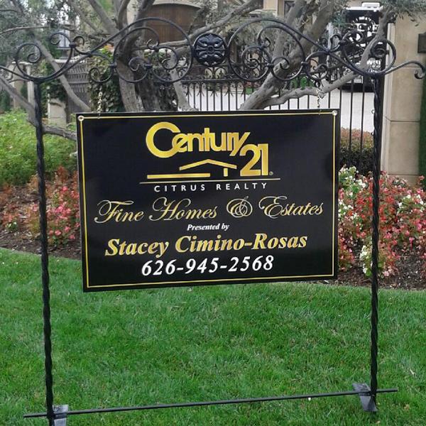 Century 21 Housing Sign